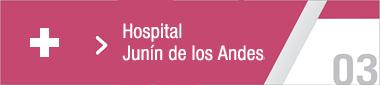 Hospital Junin de los Andes